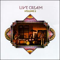 Live Cream Volume 2 - Album Cover