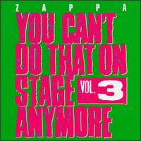 You Can't Do That On Stage Anymore, Vol 3 - Album Cover