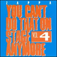 You Can't Do That On Stage Anymore, Vol 4 - Album Cover